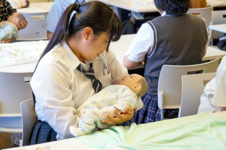 【体験授業】赤ちゃんのお世話